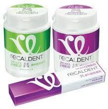 Recaldent Sugar-free Gum - available from Care For Smiles